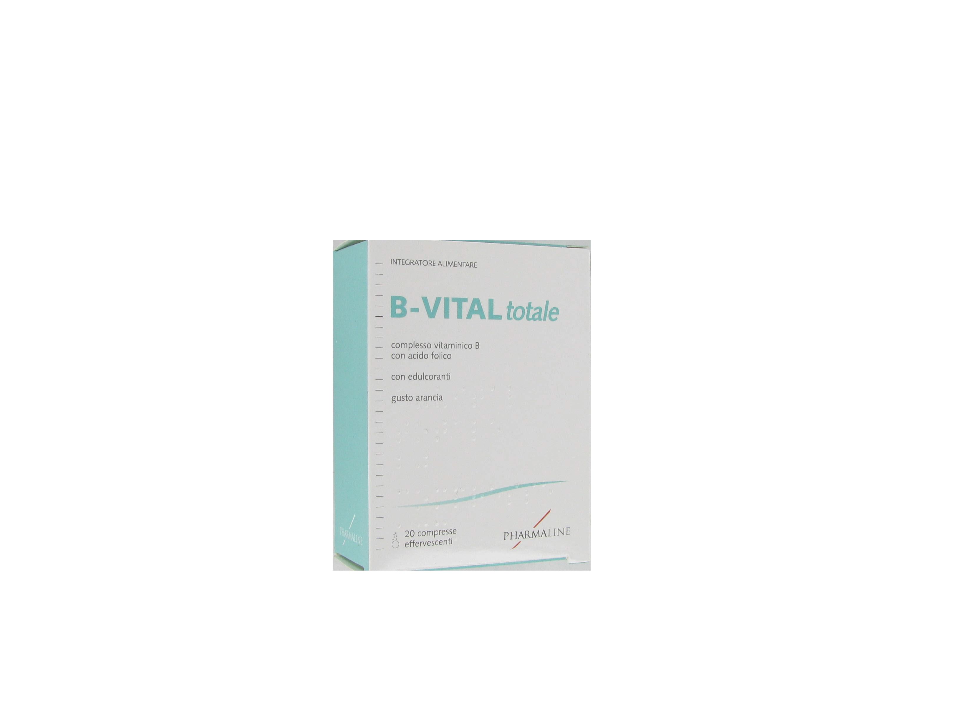 b-vital totale integratore alimentare costituito da una formulazione polivitaminica che comprende