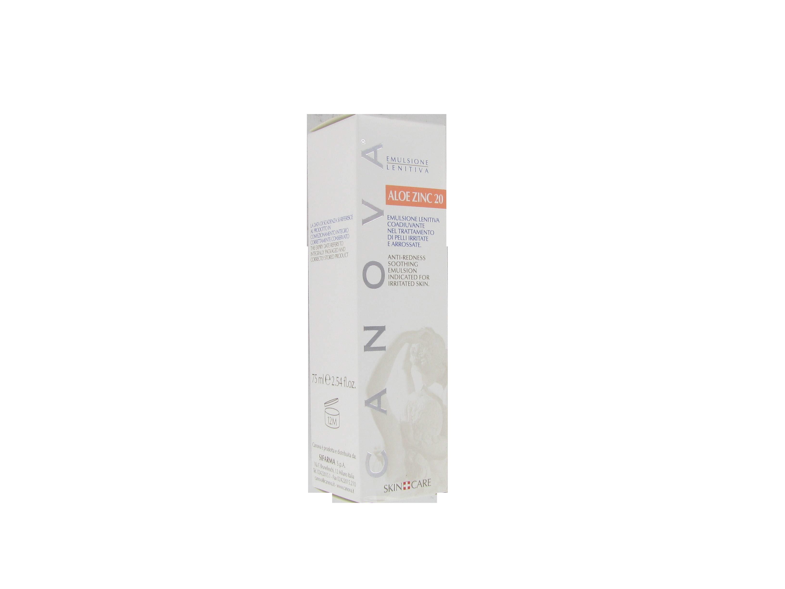 aloe zinc 20 emulsione lenitiva