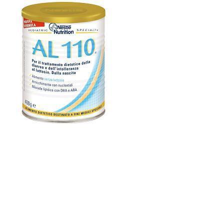 al 110 latte formulato per l'alimentazione del lattante in caso di diarrea o di intolleranza al