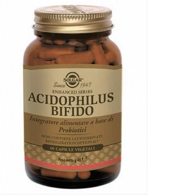 acidophilus bifido per sostenere il fisiologico funzionamento intestinale sia nelle