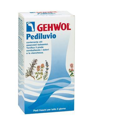 gehwol pediluvio contenente olii