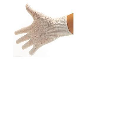guanti in cotone biano