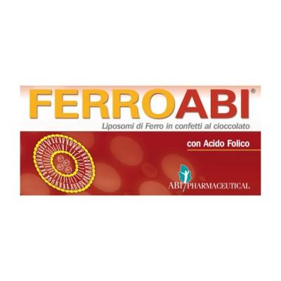 ferroabi integratore alimentare di ferro e vitamine c, b1, b6, b9, indicato in caso di ridotto