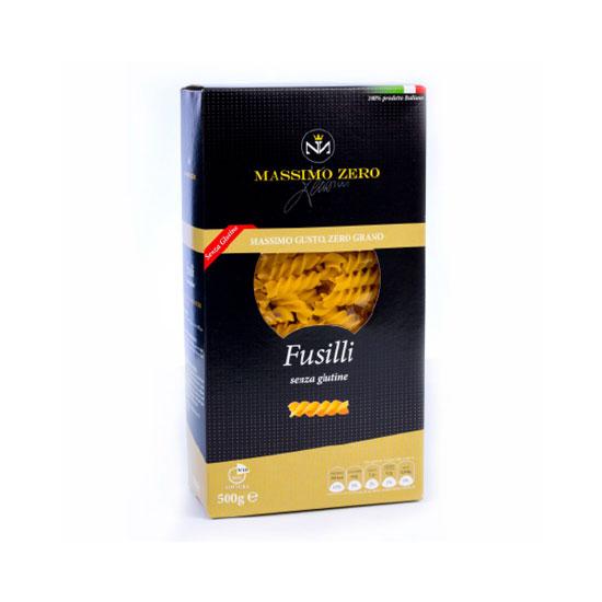 Massimo Zero Fusilli Pasta Senza Glutine 1kg pasta da usare per insalate di pasta o sughi ricchi di ricotta e