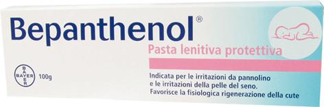 bepanthenol pasta lenitiva descrizione