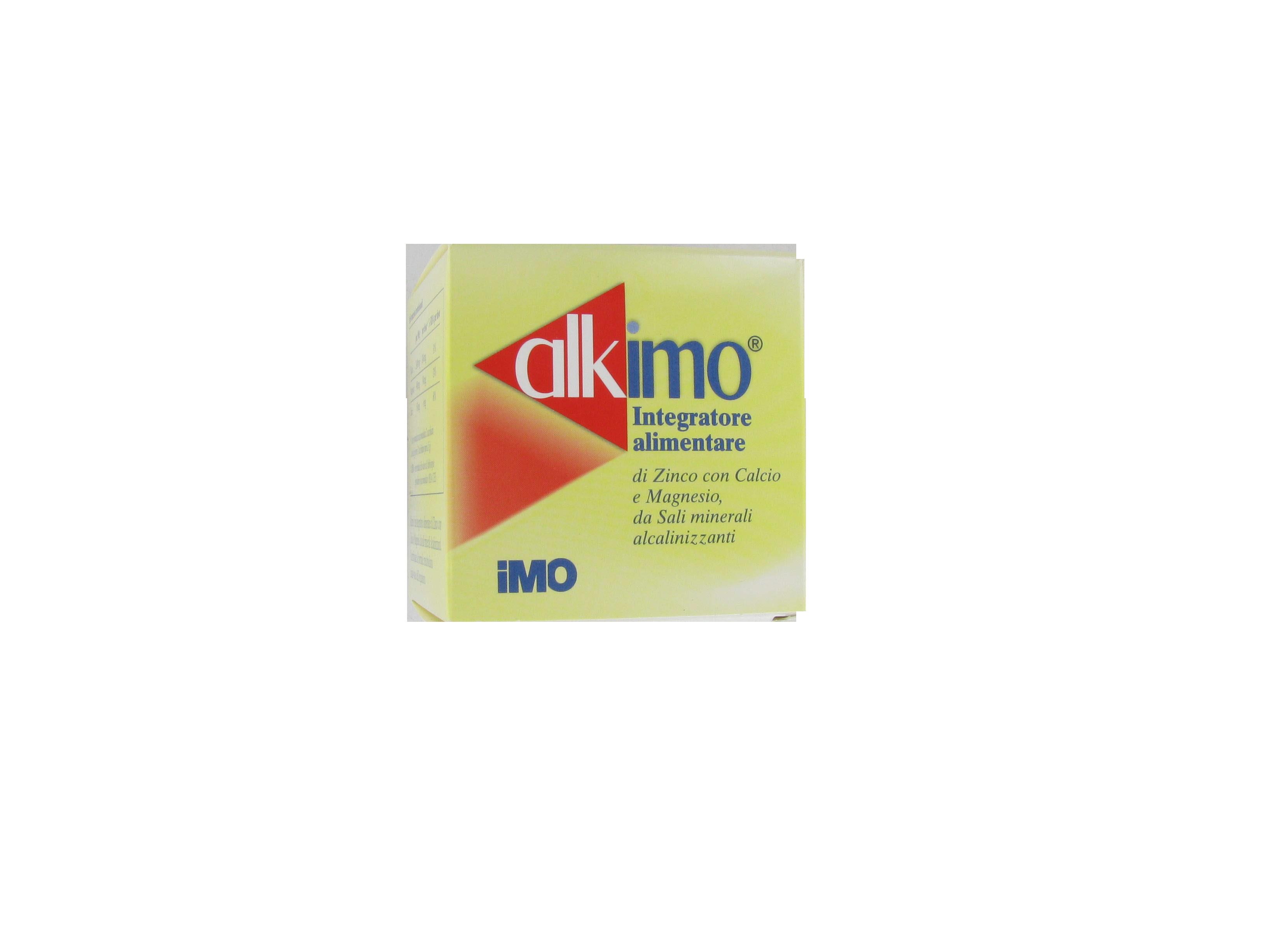 alkimo integratore dietetico di calcio, magnesio e zinco e sali minerali alcalinizzanti, utile