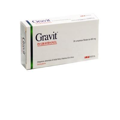 gravit integratore alimentare di acido folico, vitamina d3 e ferro, utile
