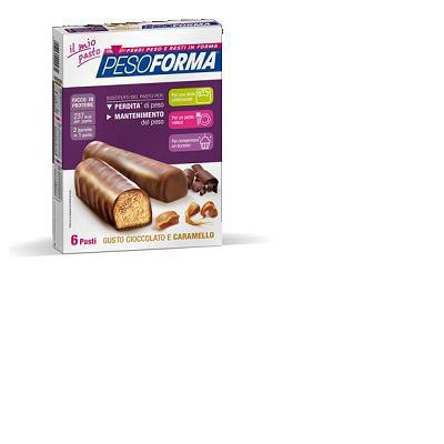 peso forma gusto cioccolato e caramello