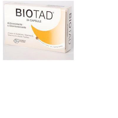 biotad integratore alimentare a base di glutatione ridotto, vitamina c, vitamina e, acido