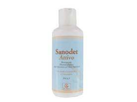 sanodet attivo detergente dermatologico con azione anti-micotica e anti-batterica a