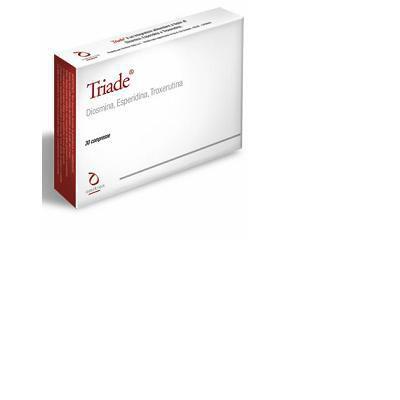 triade integratore alimentare a base di diosmina, esperidina, troxerutina.