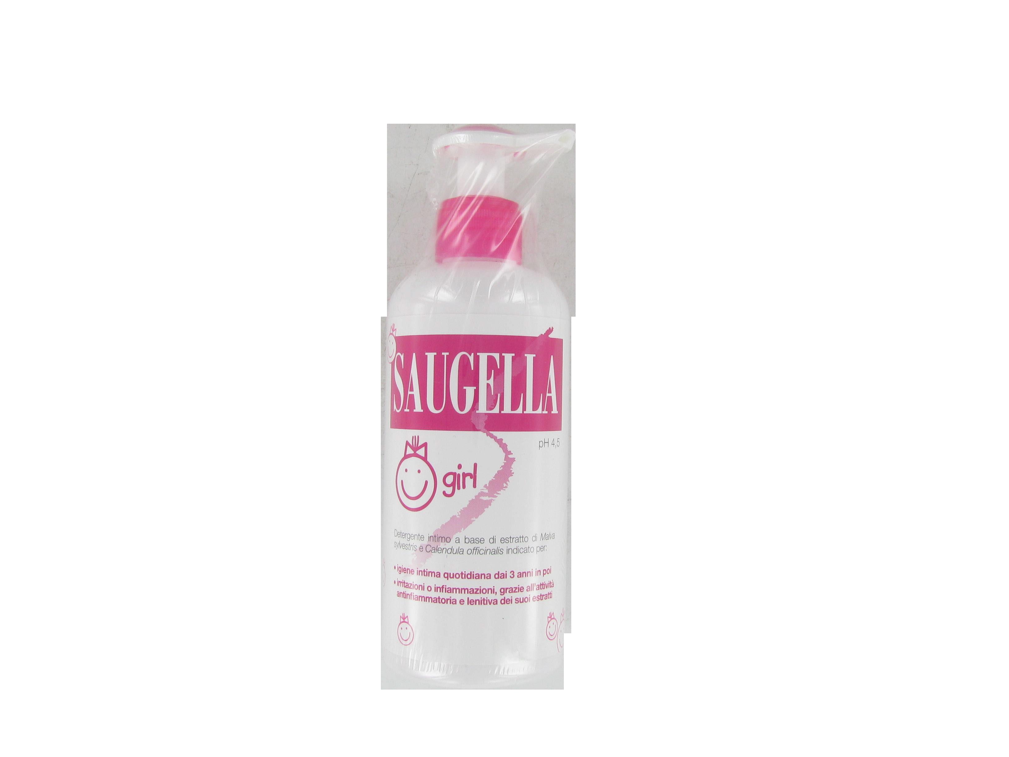 saugella girl detergente intimo