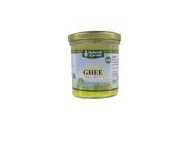 ghee il ghee (o burro chiarificato) } un'antichissima ricetta ayurvedica derivata dal