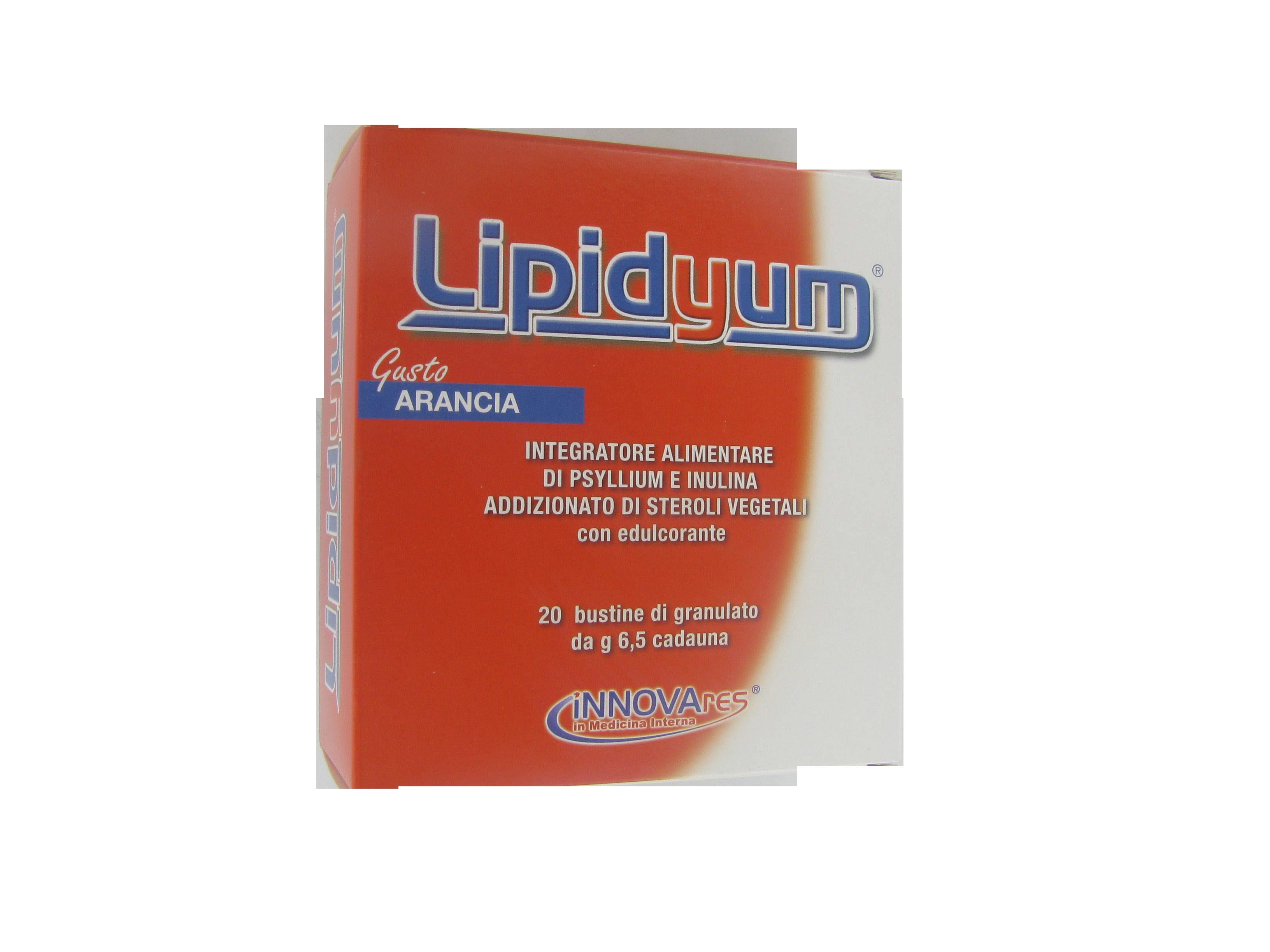 lipidyum integratore alimentare di fibra alimentare viscosa e solubile a potenziata azione