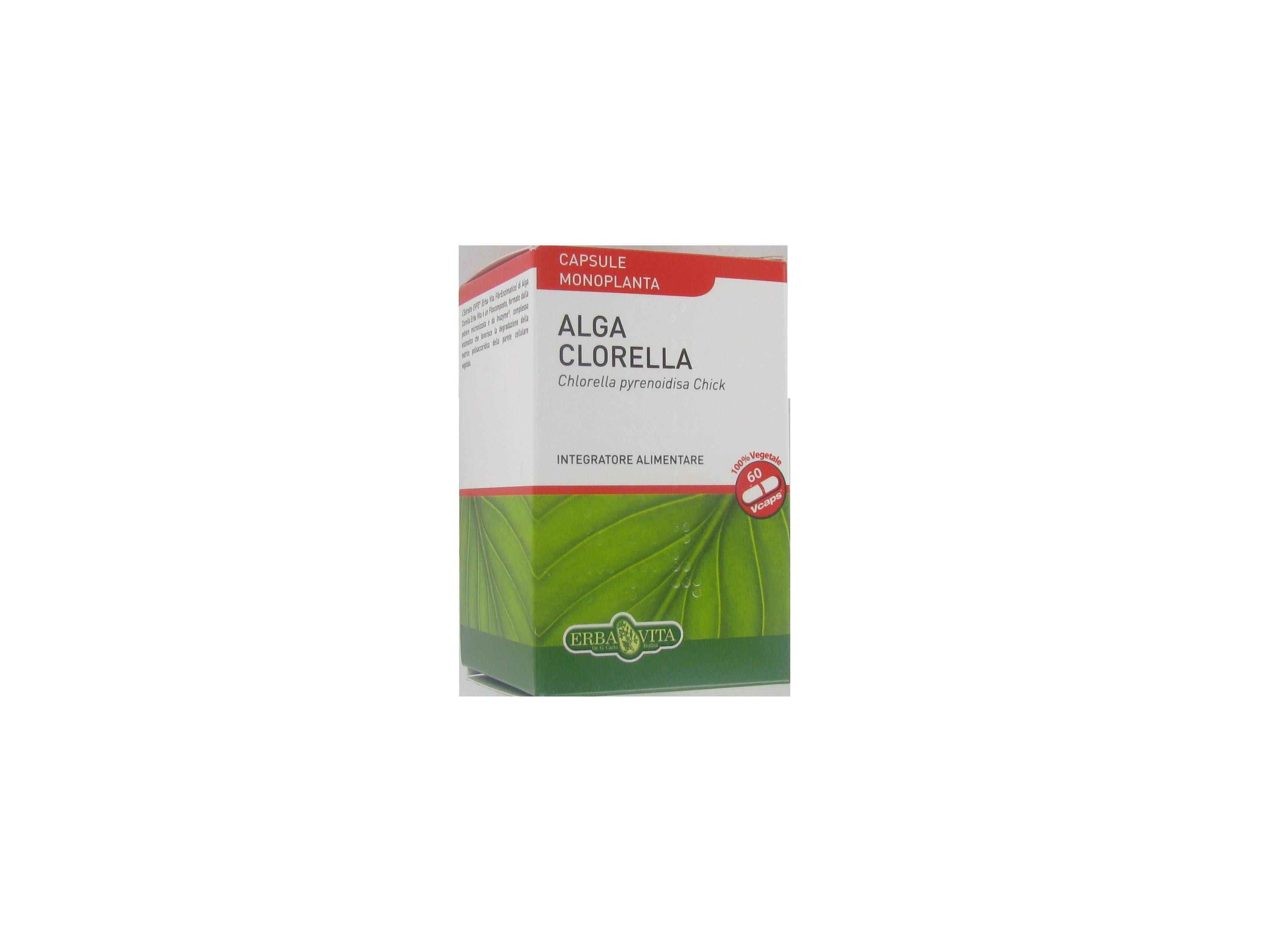 alga clorella capsule