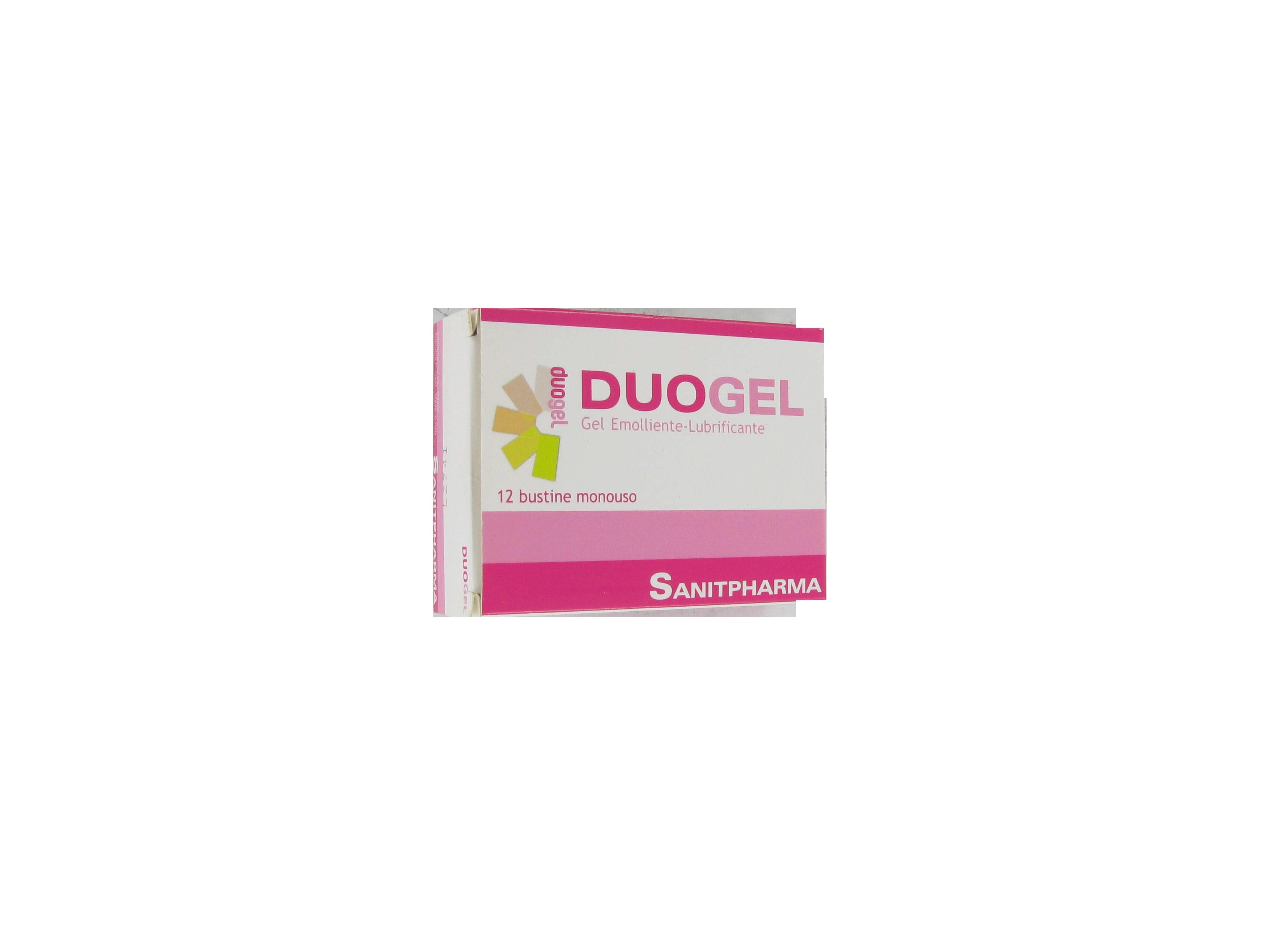 duogel gel intimo emolliente, lubrificante e deodorante adatto ad un uso quotidiano per le zone