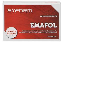 emafol integratore alimentare di ferro e vitamine, importanti fattori antianemici e supporto per