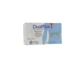 dualflor-t homeopharm integratore alimentare a base di fermenti lattici tindalizzati, frutto-oligosaccaridi a