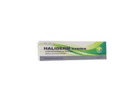 haliderm crema lenitiva, emolliente, rinfrescante. applicata su cute arrossata o irritata dona immediato