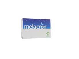 melacron integratore alimentare a base di l-triptofano, glicina, melatonina e vitamine; utile per