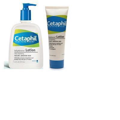 cetaphil dailyadvance lozione idratante clinicamente testata per pelle secca.