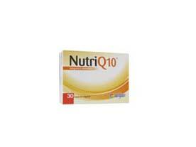 nutriq10 integratore alimentare a base di coenzima q10 con semi di lino e