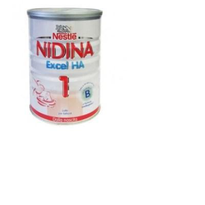 nidina excel ha latte in polvere per lattanti per lÂ'alimentazione dalla nascita