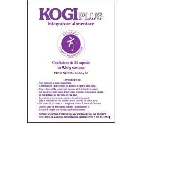 KOGI plus integratore alimentare con monacolina k del riso rosso che contribuisce al mantenimento