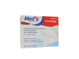farmatexa compresse di garza sterili confezionati in busta.