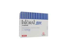 ial¦ral 1500 integratore alimentare di acido ialuronico e condroitin solfato (biocell collagen). nuova