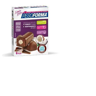 peso forma al cioccolato cuore gusto cocco