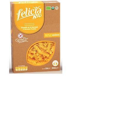 felicia bio pasta prodotta con 4 diversi cereali altamente digeribile, dall'alto valore nutrizionale