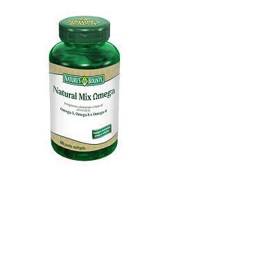 natural mix omega integratore alimentare caratterizzato da una miscela a base di olio di pesce, olio di